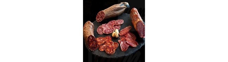 Buy Iberico Pork meat Sausages - Loin - Sausage - Chorizo - Morcón